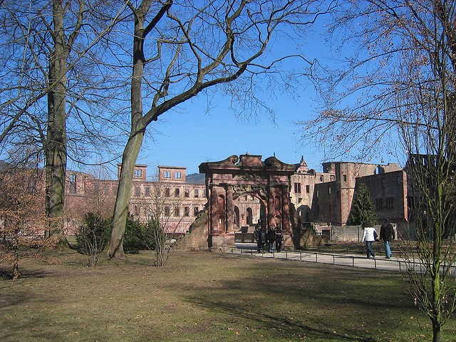 Гейдельбергский замок 13