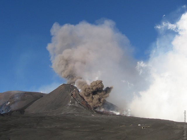 Этна фото вулкана