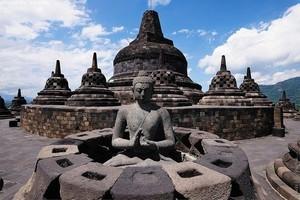 Боробудур, Индонезия