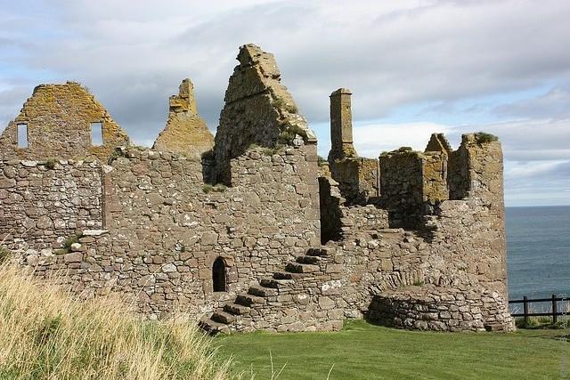 Замок Данноттар 17