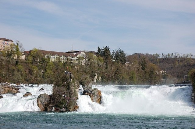 Рейнский водопад как добраться из Цюриха