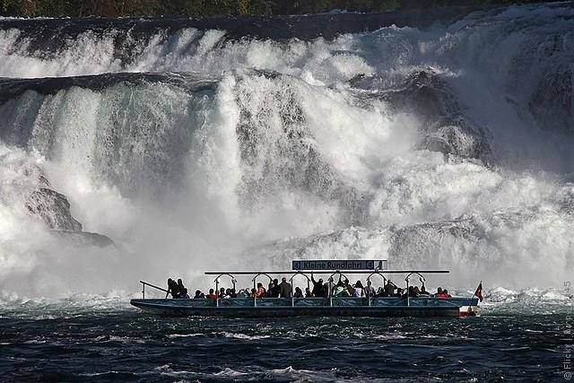 Рейнский водопад как добраться