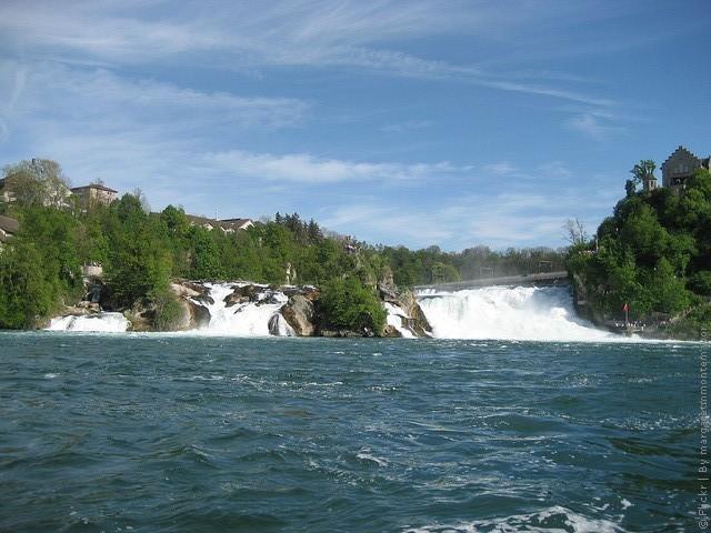 экскурсии на Рейнский водопад