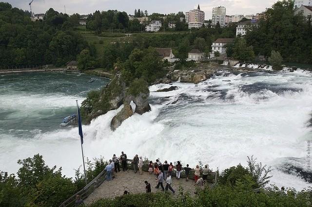 Рейнский водопад Цюрих