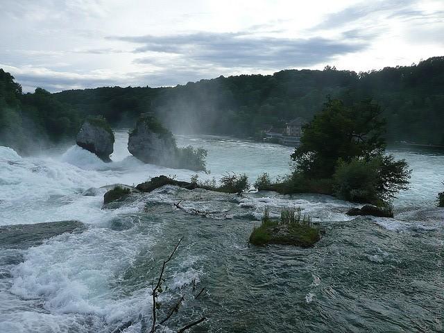 Рейнский водопад Швейцария как добраться