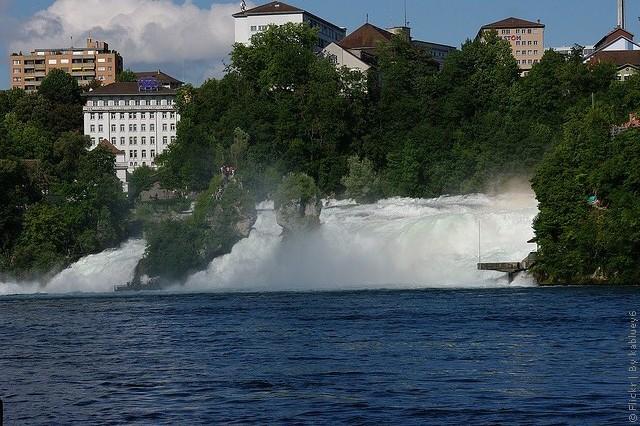 Рейнский водопад как добраться от Цюриха