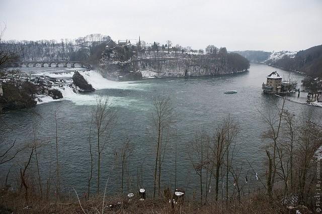 фото Рейнского водопада