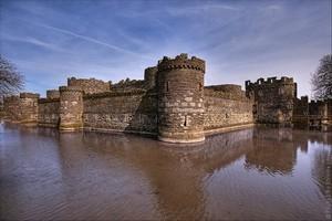 Замок Бомарис, Уэльс