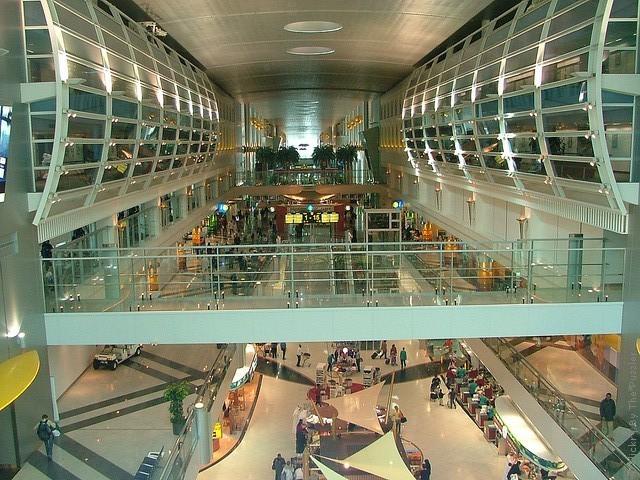 Аэропорт Дубай на карте