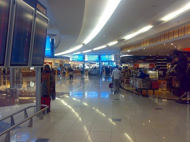 Аэропорт Дубай фото внутри