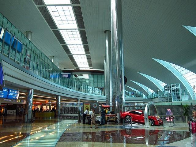 аэропорт дубай где находится