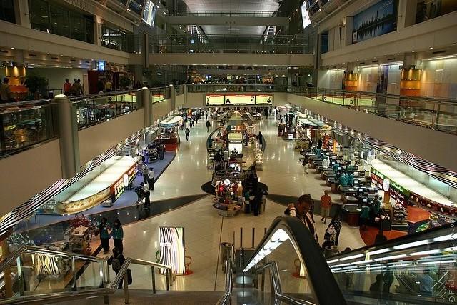 международный аэропорт дубай где находится