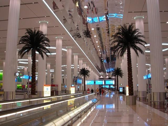 терминалы аэропорта дубай