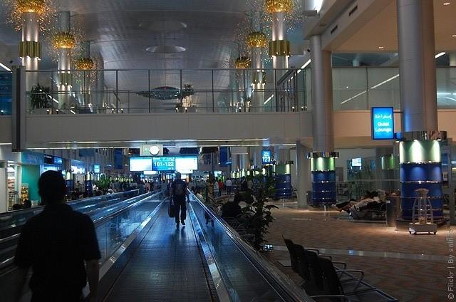 терминал 3 аэропорта дубай