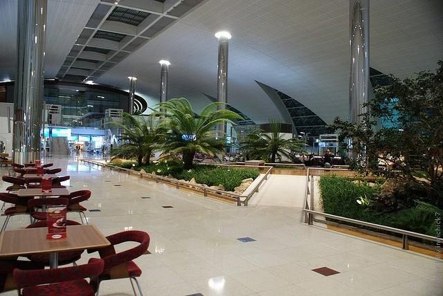 аэропорт дубай схема терминалов