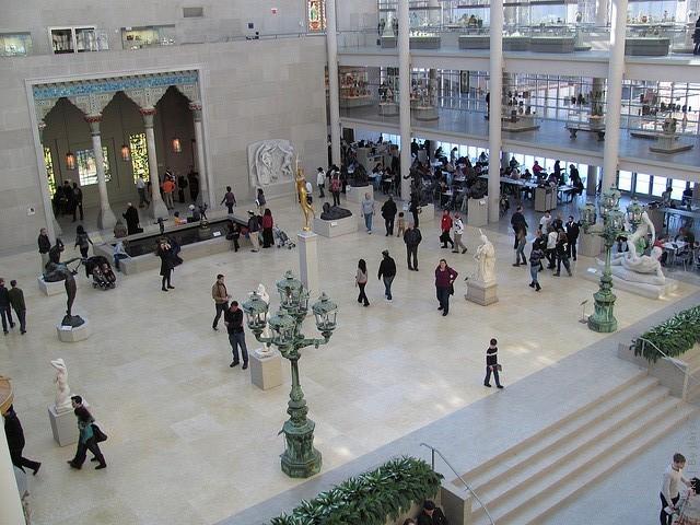 метрополитен музей нью йорк картины