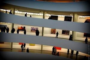 Музей Соломона Гуггенхайма в Нью-Йорке