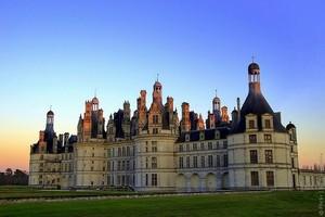 Замок Шамбор во Франции