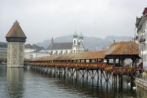 Мост Часовни в Люцерне