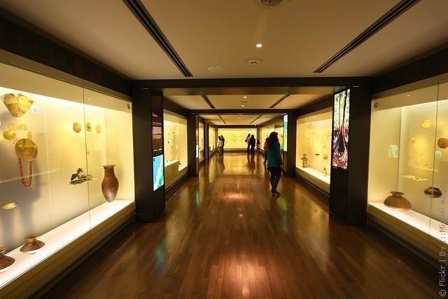 музей золота Колумбия