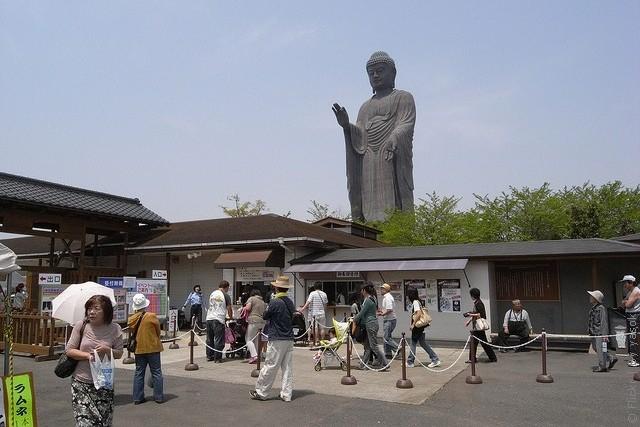 Статуя Будды Усику Дайбуцу 03