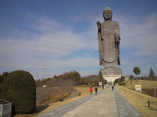 Статуя Будды Усику Дайбуцу 14