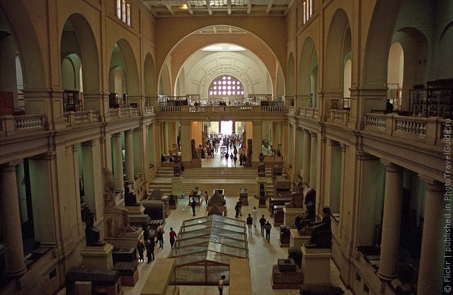 Каирский Египетский музей фото