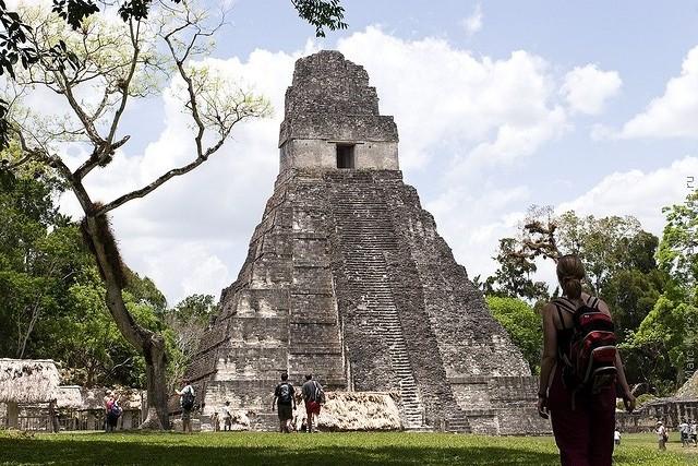 Тикаль, Гватемала.