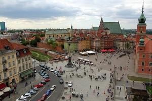 Город Варшава, Польша