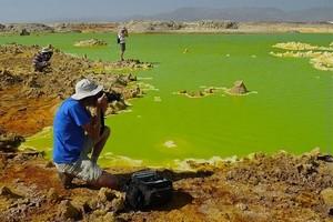 Вулкан Даллол, Эфиопия