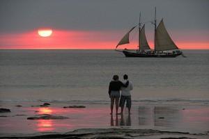 Пляж Кейбл Бич в Австралии