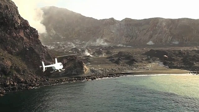 Путешествие к вулкану Уайт-Айленд 1