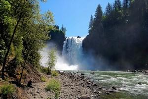 Водопад Сноквалми в США
