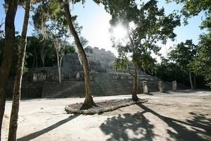 Древний город Калакмуль