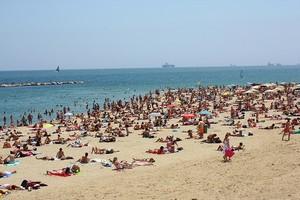 Красивые городские пляжи