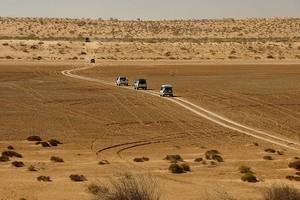 Пустыня Симпсона в Австралии