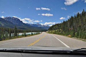 Icefields Parkway, Канада