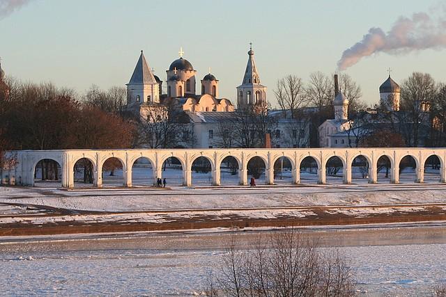 Новгородские исторические памятники.