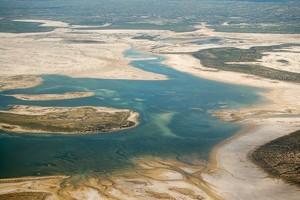 Озеро Эйр в Австралии