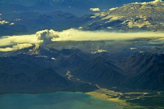 Вулкан Чайтен Чили