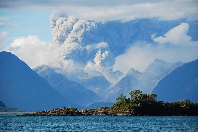Вулкан Чайтен в Чили