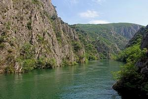 Каньон Матка, Македония