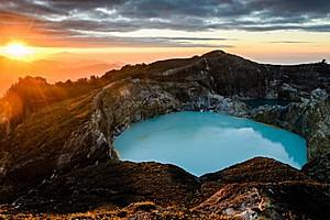 Вулкан Келимуту, Индонезия