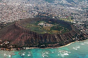 Вулканический конус Даймонд-Хед