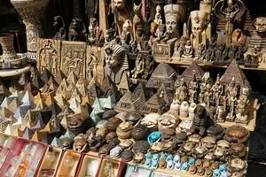 Рынок Хан эль-Халили в Каире