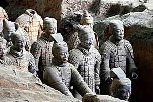 Терракотовая армия, Китай