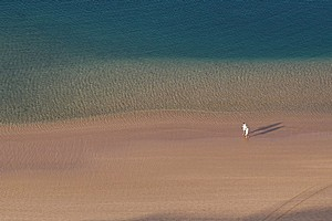 Пляж Тереситас на Канарских островах