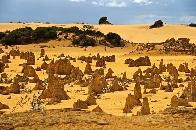 Пустыня Те-Пиннаклс Австралия