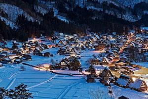 Деревня Сиракава-Го, Япония