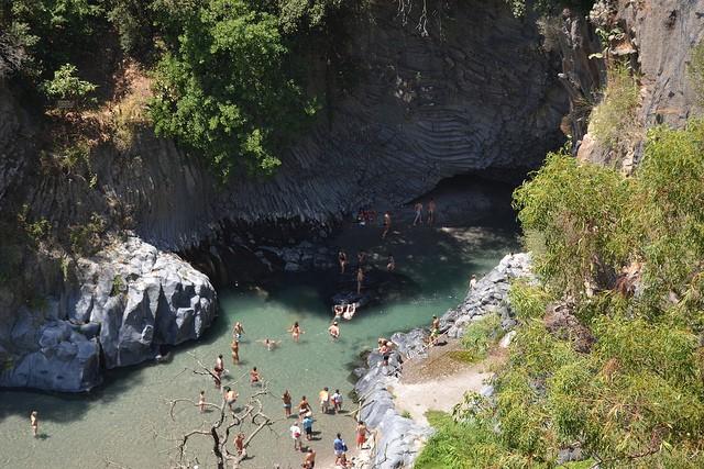 Ущелье Алькантара Сицилия